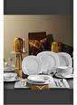 Kütahya Porselen Çisil Yemek Takımı Seti 72 Prç. 12 Kişilik Renkli